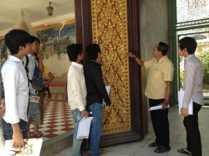 Student- teacher at Royal Palace