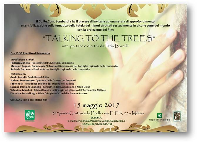 invito talking to the trees